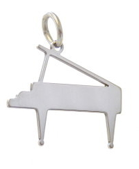 piano pendant stainless steel