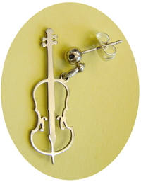 cello earring