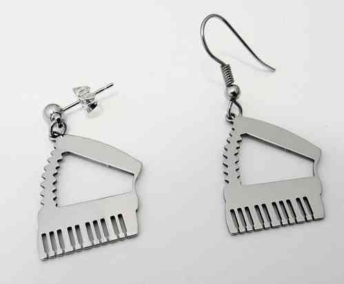 accordion earring