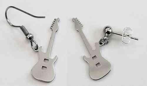 electric guitar earring